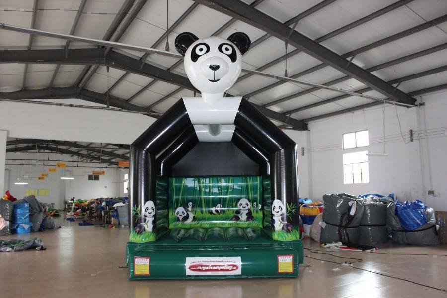 panda zelená